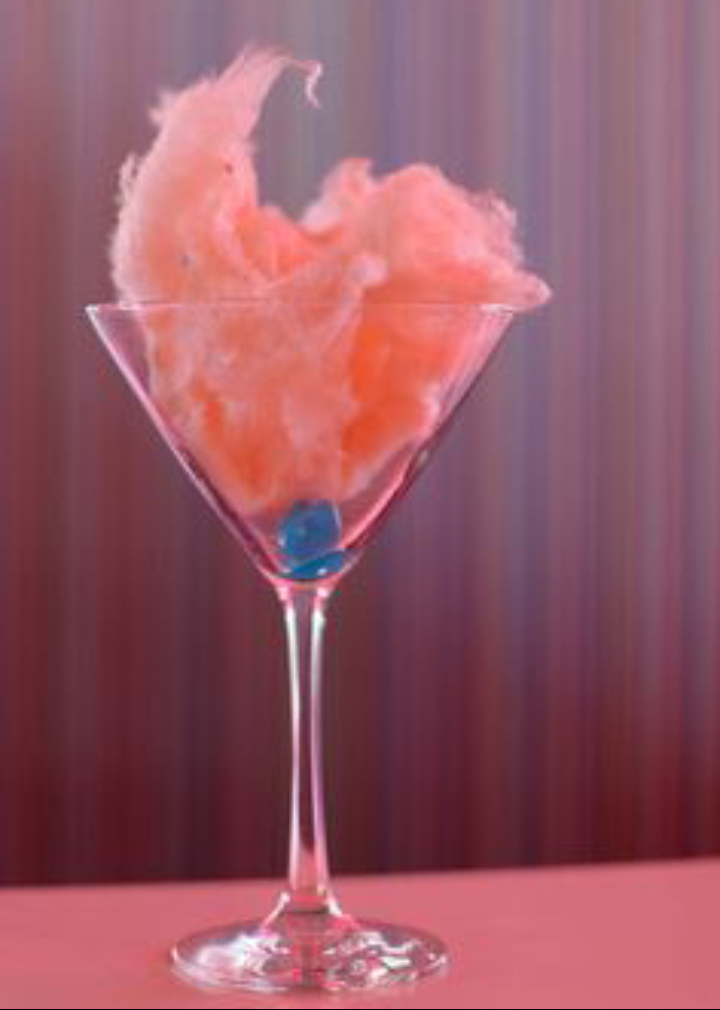 Sparkling Cotton Candy Cocktail Recipe Shine Beautifully